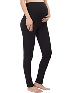 1657e0fe84f85 Pregnant Women Maternity Stretchy Tights Over-The-Belly Warm Leggings Pants