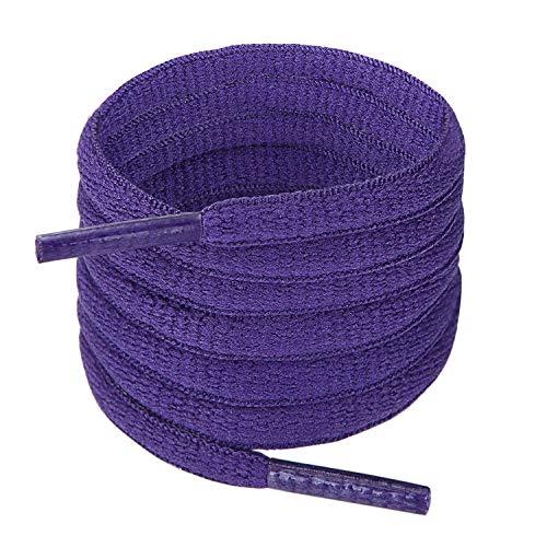 Purple Shoe Laces (Handshop Half Round Shoelaces 1/4