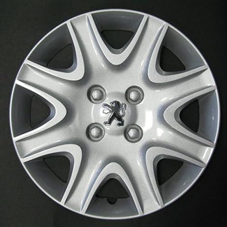 Desconocido Set de 4 embellecedores nuevos para Peugeot Partner / 208/308 con Llantas Originales