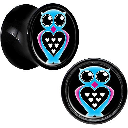 00 gauges plugs owl - 5