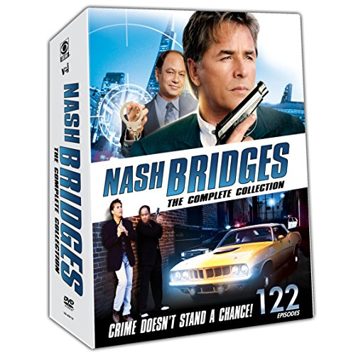 Nash Bridges: Complete Collection (22 Disc Set) (Australian Tv Series Dvd)