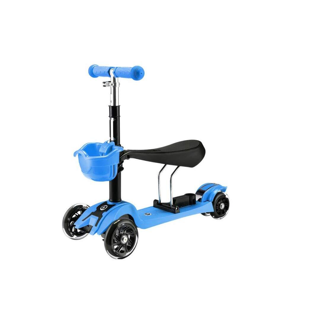 2018セール TLMYDD : 1人の幼児の子供のスクーター3人がベビースクーターの子供ウォーカー3または4ラウンドフラッシュスクーター61 x 24 青 x 74 cmに座ることができます Green) 子供スクーター (色 : Green) B07NMH9B3S 青 青, メガネサングラスのThat's:99303c05 --- a0267596.xsph.ru