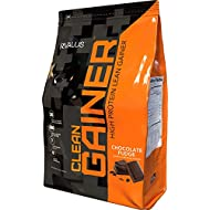 Rivalus Clean Gainer – Chocolate Fudge 10lb   -    Delicious Lean Mass Gainer with Premium Dairy Proteins, Complex Carbohydrates, and Quality Lipids, No Banned Substances, Made in USA