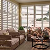 PLANTATION SHUTTERS FOR INTERIOR WINDOWS - Louvered