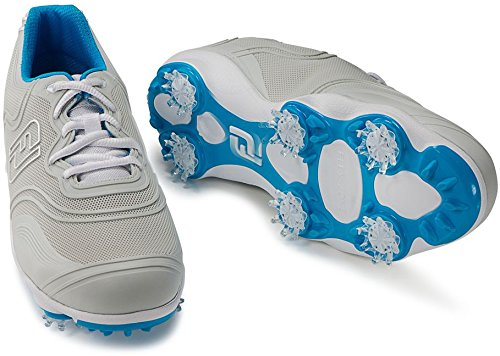 FootJoy FJ Aspire Women's Golf Shoes - 98895 WHITE - 9 MEDIUM by FootJoy