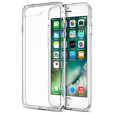Trainium [Clarium Series] Protective Case for iPhone 7 Plus & 7 Pro 2016 Premium Shock Absorbing + Scratch Resistant Clear Cases Cover Hard Back Panel + TPU Bumper (Work with iPhone 6S Plus & 6 Plus) by Trianium