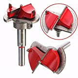 35MM Carbide Tipped Hinge Cutter Wood Positioning Drill Bit Reamer