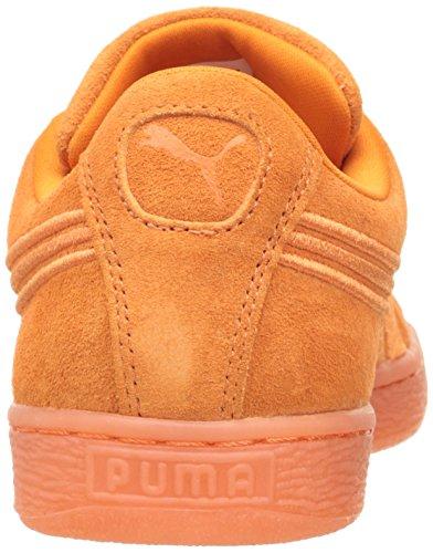 PUMA Wildleder Klassischer Abzeichen Iced Fashion Sneaker Goldene Mohnblume