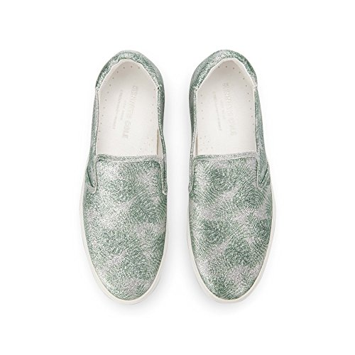 Kenneth Cole New York Womens Joanie Slip On Platform Patent Fashion Sneaker Green Multi cx1AukZ