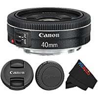 Canon EF 40mm f/2.8 STM Lens + Pixi-Starter Accessory Lens Kits