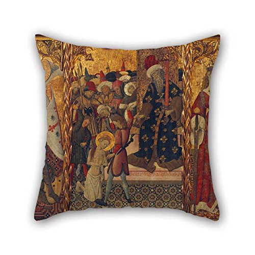 Oil Painting Bernat Martorell - Saint Michael, Martyrdom Of