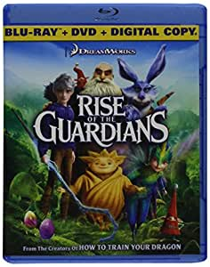 Rise of the Guardians (Two-Disc Combo: Blu-ray +DVD +Digital HD)