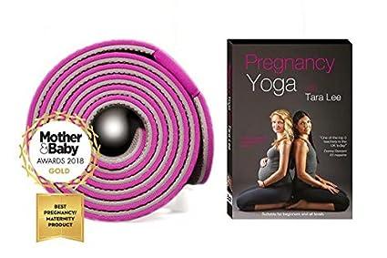 Tara Lee Yoga - Alfombrilla para yoga, incluye DVD y ...