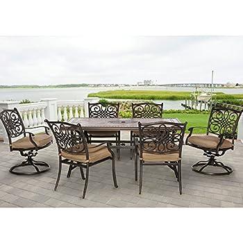 Amazon Com Cbm Outdoor Cast Aluminum Patio Furniture 7