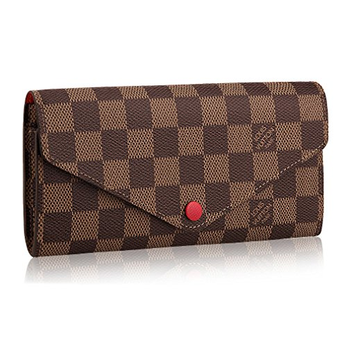 Louis Vuitton Damier Ebene Canvas Josephine Wallet N63543 - Louis Ladies Vuitton Wallets
