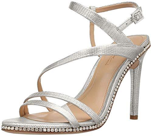 Imagine Vince Camuto Women's Im-gian Dress Sandal, Platinum, 6.5 M US