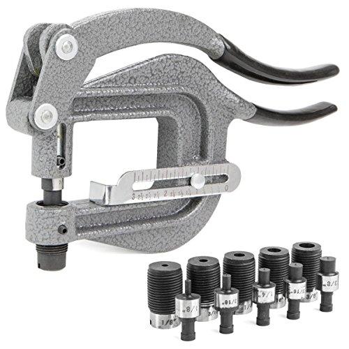 Hand Punch 1000 (Power Punch Deep Thorat kit Sheet Metal Rivet Hole Portable Hand Auto Body Tool)