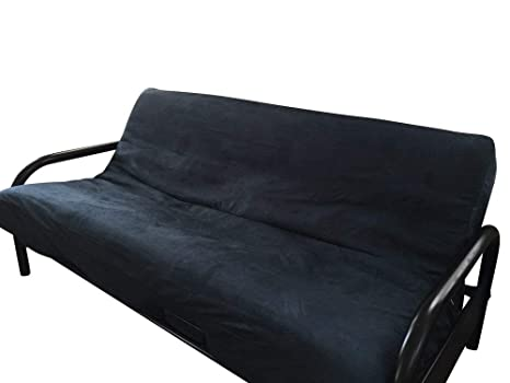 OctoRose tamaño Completo Bonded Classic Gamuza Micro Suave Cubierta de futón sofá Cama colchón Cubierta