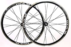 AEROMAX 700C ROAD COMP WHEELESET NEW / HAND-BUILT / SHIPS IN 24hrs DETAILS: Wheels come with rim strips and skewers Serviceable Vuelta Ball Bearing hubs Hand Built Every wheel is stressed 3 times Every spoke is tension tested with a DT Swiss ...
