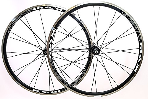 (Aeromax Alloy Wheelset Road Bike Comp 700c Wheels)