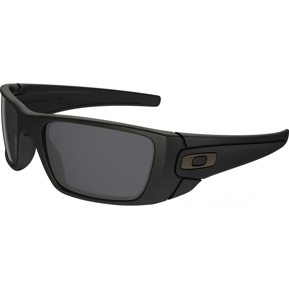 Oakley Fuel Cell Men's Polarized Lifestyle Active Sports Sunglasses/Eyewear - Matte Black/Matte Black/Grey / One Size Fits All by Oakley