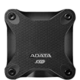 ADATA SD600 3D NAND 512GB USB3.1 Ultra-Speed External Solid State Drive Read up to 440 MB/s Black (ASD600-512GU31-CBK)