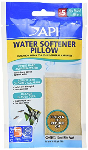 Water Softener Pillow - API WATER SOFTENER PILLOW Aquarium Canister Filter Filtration Pouch 1-Count Bag
