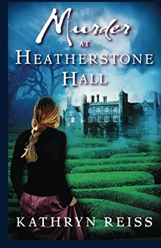 book cover of Murder at Heatherstone Hall