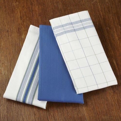 Le Creuset Cobalt S/3 Kitchen Towels TH 5005 30