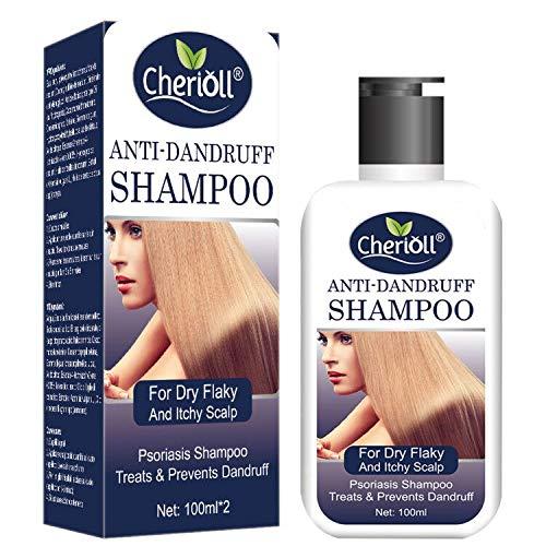 Anti-Dandruff Shampoo, Psoriasis Shampoo, Treats & Prevents Dandruff, Healthy Scalp Treatment, For Dry Flaky and Itchy Scalp, Daily Use Hair Treatment