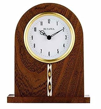 Amazon.com: Bulova Hampton Oficina Reloj: Home & Kitchen