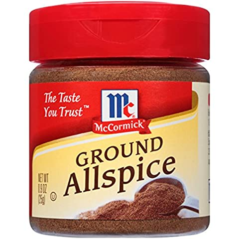 McCormick Ground Allspice, 0.9 oz - Nutmeg Spice