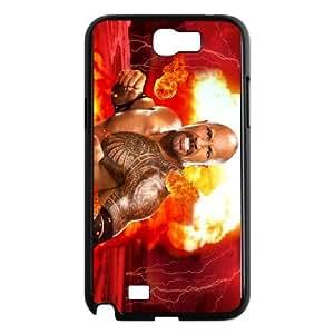 Samsung Galaxy N2 7100 Cell Phone Case Black WWE Vyaqs