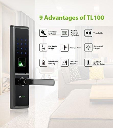 ZKTeco Bluetooth Locks Digital Keypad Lock Biometric