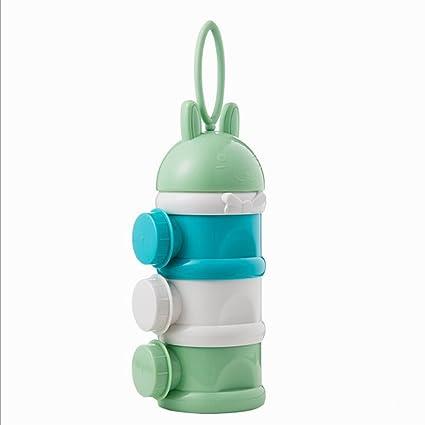 XAGoing - Recipiente de leche para bebés recién nacidos y niños con polvo de leche artificial