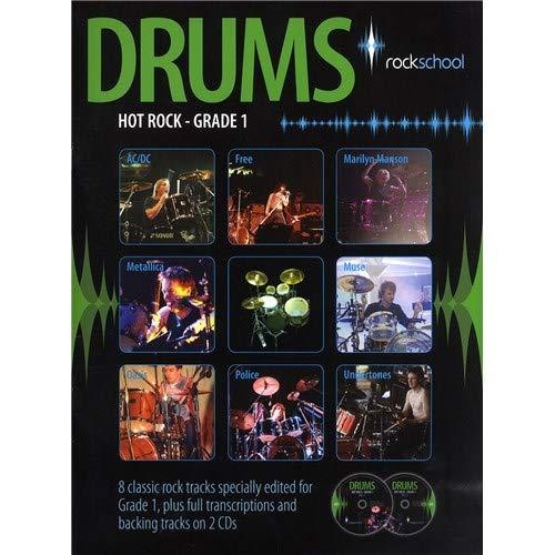 Rockschool Drums: Hot Rock Grade One (Book/2CDs). Partituras ...