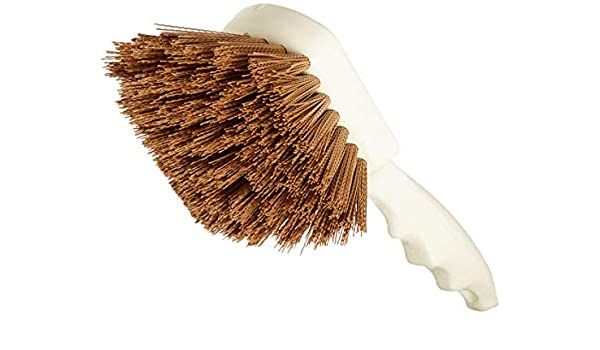 "Carlisle 4050102 Sparta Utility Scrub Brush 20/"" x 3/"" White Case of 12"