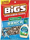 Bigs Sunflower Seeds Ranch 5.35 Ounce Pack of 4