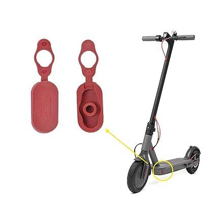 Desconocido 2 Piezas de Puerto de Carga para reparación de Polvo para Xiaomi Mijia M365 Electric Scooter