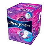 Always Radiant Pantiliners, Regular, Unscented, 96 Liners (Pack of 2)