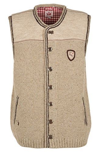 German knitted waistcoat Ramsau SW nature by Spieth & Wensky