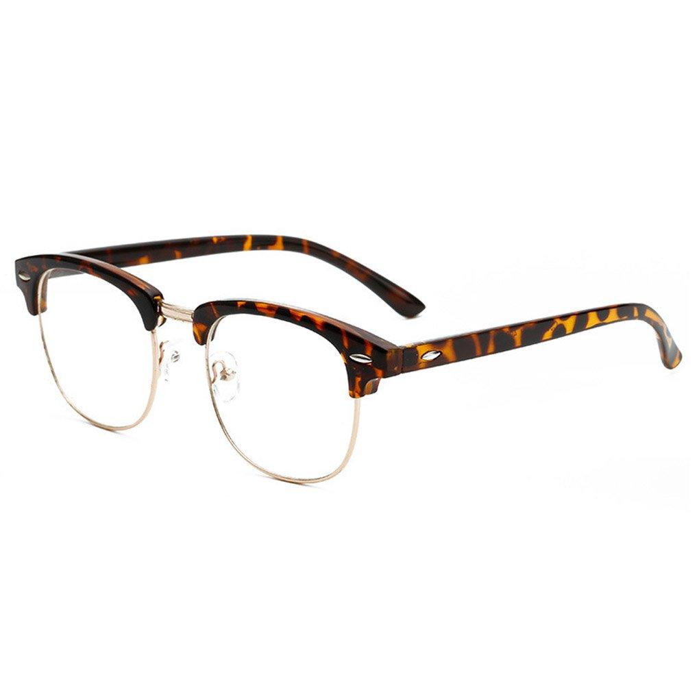M-Egal New Designer Round Men Glasses Retro Fashion Black Women Glasses Frame NO.8