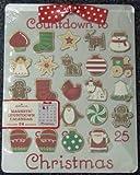 Hallmark Christmas DIR2500 Magnetic Christmas Countdown Calendar