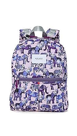 STATE Women's Mini Kane Coney Island Backpack, Elephant, One Size