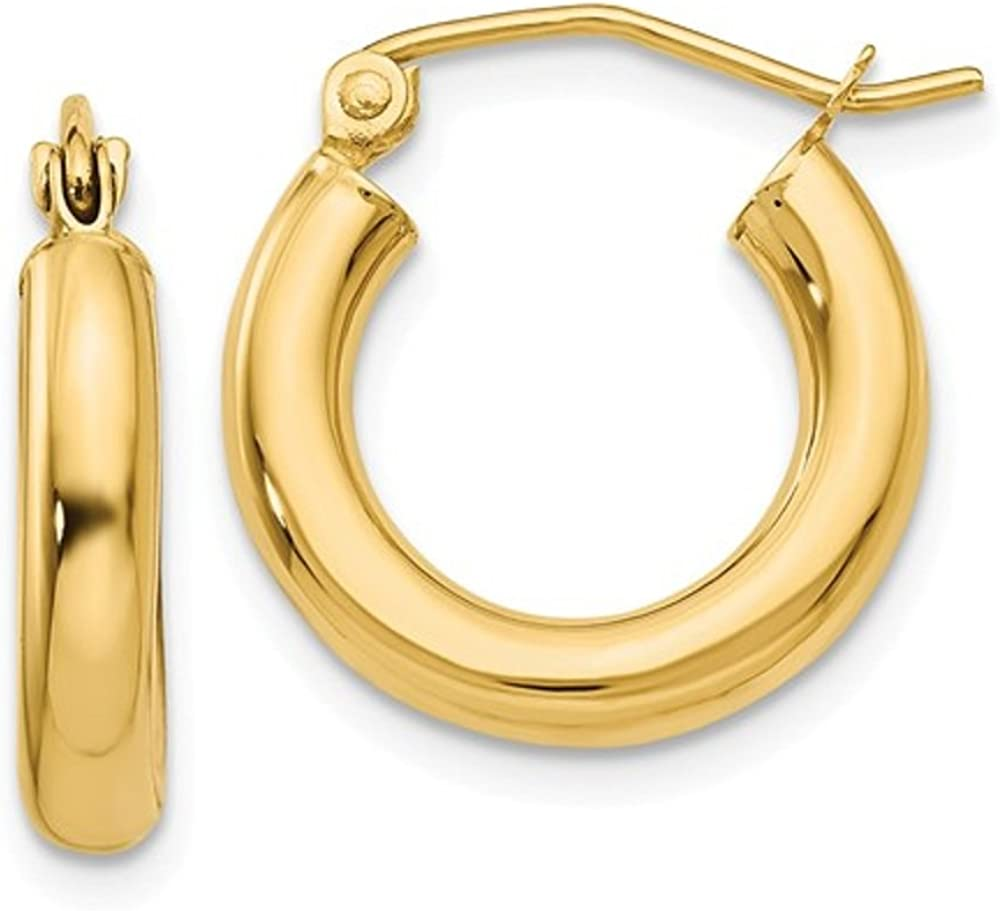 Small 14K Yellow Gold Thick...