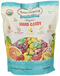 Torie & Howard Organic Hard Candy 227 Individually Wrapped Pices Net Wt 24oz