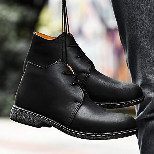 Stivali Autunno in Pelle Adulti Marten per Stivali E Inverno Doc Uomo in Stivali Cotone Black Classici Boots Classici RwYvxqW7