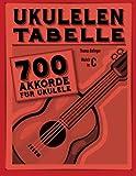 Ukulelen-Tabelle: 700 Akkorde für Ukulele