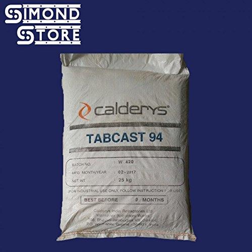 tabcast-94-dense-castable-refractory-cementhigh-alumina-55-lbs