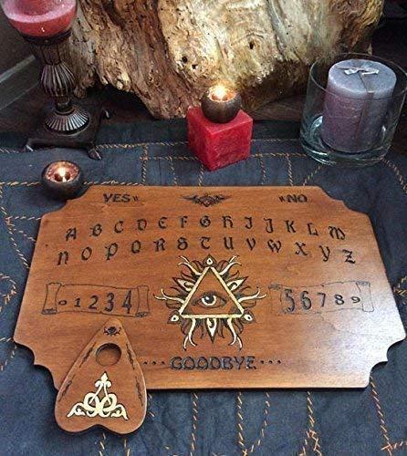 Ouija Troisème Oeil Gravure sur bois. N°1 de la création française reconnue par les médiums et les meilleurs enquêteurs du paranormal en France.